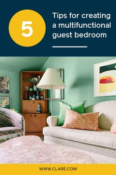 5 guest bedroom ideas to try if you want to maximize your space — perfect for small homes!