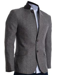 FLATSEVEN Mens Slim Fit Winter Wool Blends Jacket Herringbone (BJ210) Brown, Boys L FLATSEVEN http://www.amazon.com/dp/B00A6CC7DK/ref=cm_sw_r_pi_dp_N-f1ub0K49FM3