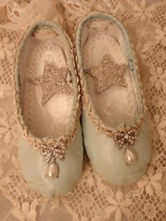 Darling little girl's shoes