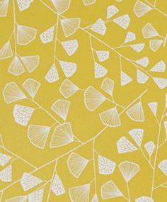 MissPrint's Fern wallpaper in Citrus colour
