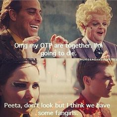 Caesar ships it.<<< we all know Caesar ships it, I mean did you see his face when Peeta proposed?