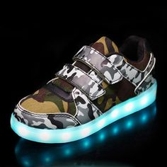 97ec3c176747 Eur25-37    USB Basket Led Children Lighting Shoes With Light Up for Girls  Luminous Sneakers Glowing Shoe enfant Boy Kids