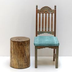 A personal favorite from my Etsy shop https://www.etsy.com/listing/246213958/tree-stump-side-table-stool-seat