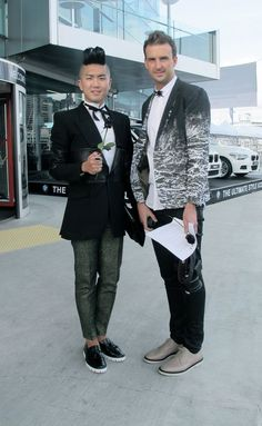 Mino and Alex from Whiteside Grimes We Wear, How To Wear, Vogue, People, Men, Style, Fashion, Swag, Moda