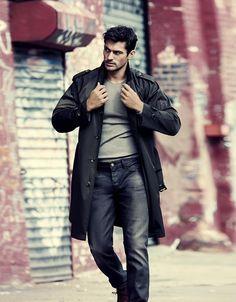 Model: David Gandy; El Libro Amarillo for El Palacio 2012