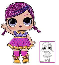 LOL Surprise Doll Coloring Pages – Color your favorite LOL Surprise Doll!