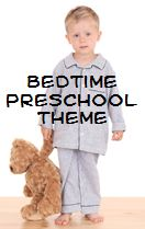 Bed Time theme for Preschool