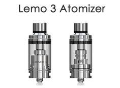 Eleaf Lemo 3 Tank Atomizer with RTA Base - features top filling, eJuice capacity. Moreover, it can either be used with replaceable atomizer head or used with pre-made or self-built coil as RTA for DIY fun. Starter Kit, Canning, Vape Products, Glass, Diy, Youtube, Drinkware, Bricolage, Home Canning