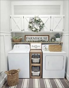 ☛☀ Functional And Stylish Laundry Room Design Ideas To Inspire (Make You. ☛☀ Functional And Stylish Laundry Room Design Ideas To Inspire (Make You Love it 39 Tiny Laundry Rooms, Laundry Room Wall Decor, Laundry Room Remodel, Laundry Room Organization, Laundry Room Design, Laundry Room Shelving, Laundry Organizer, Living Room Wall Decor, Laundry Room Colors
