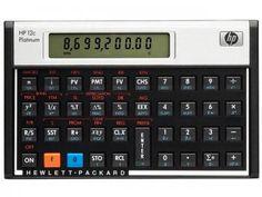 Calculadora Financeira 130 Funções - HP 12C Platinum