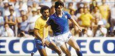 Show inútil: Itália mata o futebol-arte do Brasil e conquista o tri na Espanha em 1982. O desastre em Sarriá !