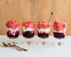 Red White and Blue Granita Recipe |80 Make Ahead Freezer Meals