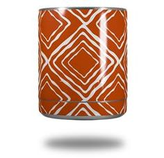 Wavey Burnt Orange - Decal Style Skin Wrap fits Yeti Rambler Lowball (YETI NOT INCLUDED)