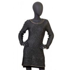 Liu Jo - sweter z łańcuszkiem