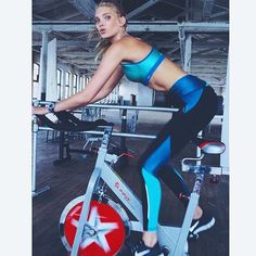 Elsa Hosk | Soul Cycle | Victoria's Secret