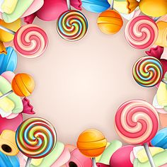 Cartoon candy background Candy Background, Cartoon Background, Background Clipart, Pattern Background, Candy Images, Candy Pictures, Candy Theme, Candy Party, Candy Drawing