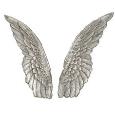 Angel Wings Wall Decor, Set Of Two Paragon Plaque Wall Decor Home Decor