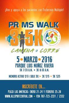 3k-5k Fundación de Esclerosis Múltiple de Puerto Rico #sondeaquipr #3k5kfundacionesclerosismultiplepr #parqueluismunozrivera #sanjuan #deportespr