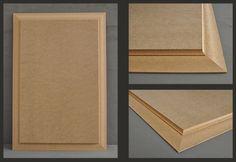 Kit soubassement, Zoom sur la plate bande en MDF 19mm Panel Moulding, Diy Molding, Crown Molding, Shiplap Paneling, Wainscoting, Panelling, Wall Trim, Raised Panel, Carpentry