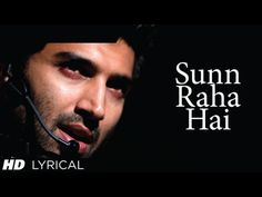 "Presenting full song ""Sun Raha Hai Na Tu"" with lyrics from movie ""Aashiqui produced by T-Series Films & Vishesh Films, starring Aditya Roy Kapur, Shraddha. Bollywood Music Videos, Bollywood Movie Songs, Best Songs, Love Songs, 90s Hit Songs, Indian Movie Songs, Musica Disco, Film Song, Song Hindi"