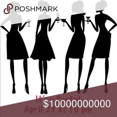 Save the Date! It's a Posh Party! I'm thrilled to be hosting on April 23rd at 10 pm. I'll be on the look out for host picks as soon as the theme is announced. Like to be notified of the theme! The NEW Boutique Other