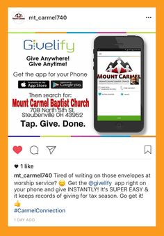 Nonprofit Donation and Church Giving App - Givelify Non Profit, Giving, Fans, Followers