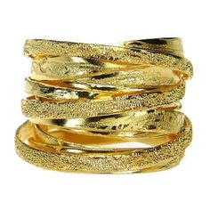 4-32A sterling silver 925 handmade custom wrap ring gold plated Sinuous Ring-made in Greece