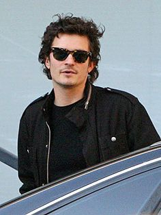 Orlando Bloom and Ray-Ban Original Wayfarer 2140 Sunglasses Photograph