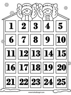 calendario-avvento-natale Christmas Crafts For Kids, Christmas Printables, Christmas Colors, Handmade Christmas, Christmas Fun, Holiday Crafts, Make An Advent Calendar, Advent Calendars, Brownie Meeting Ideas