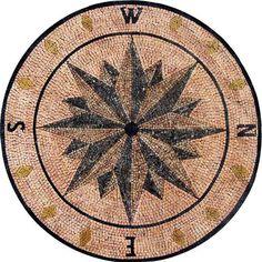 Medallion Mosaic - Wind Rose