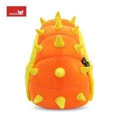 70c43477bc82 NOHOO Animals Waterproof Kids Baby Bags Kindergarten Neoprene Dinosaur  Children School Bags For Girls Boys Cartoon School Bags