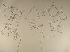 Lourdes Castro : Serigrafia, 31x42 cm