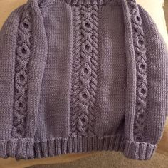 Lil Rascal Round Neck Sweater in West Yorkshire Spinners Bo Peep Luxury Baby - Downloadable PDF Toddler Knitting Patterns Free, Christmas Knitting Patterns, Knit Patterns, Baby Scarf, Baby Cardigan, Girls Jumpers, Universal Yarn, Bo Peep, West Yorkshire