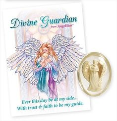 Angelstar 8735 Divine Guardian Angel Worry Stone, 1-1/2-Inch