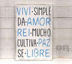 Cartel | Viví simple, da amor...PROMO AMIGO