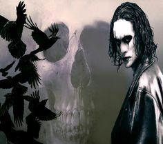 A cut and paste photoshop picture I put together and transformed into a Brandon Lee film The Crow wallpaper, hope you like. The Crow Wallpaper The Crow, Brandon Lee, Bruce Lee, Halloween Movies, Halloween Face Makeup, Crow Movie, Sally Nightmare Before Christmas, Thing 1, Animal Wallpaper