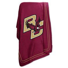 separation shoes 99684 78ce5 Boston College Eagles NCAA Classic Fleece Blanket Fleece Throw, Boston  College, Mlb, Mls