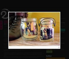 Jar Picture Frames 25 Fun Instagram Projects for Summer!