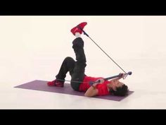 Gymstick Trio Abduction with shoulder press and recline