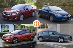7 Good Used Compact Cars Under $10,000 for 2020 Good Used Cars, Price Point, Subaru Impreza, Cladding, Compact