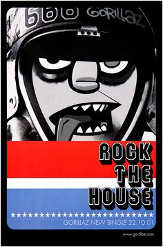 Gorillaz poster - Rock the House Primary Photo