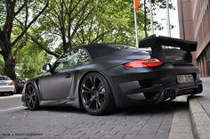 Porsche 997 TechArt GT Street Convertible in Düsseldorf by Nick Fernau | Automotive Photography