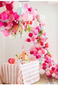 Party Decorations With Balloons Ideas!! #Home #Garden #Trusper #Tip