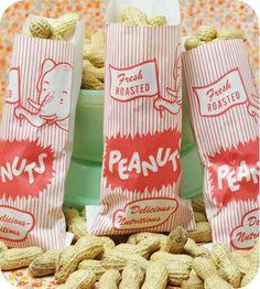 Elephant Peanut Bags