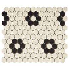 "New York 1-7/8"" x 1-7/8"" Porcelain Mosaic Tile in Antique | Wayfair"