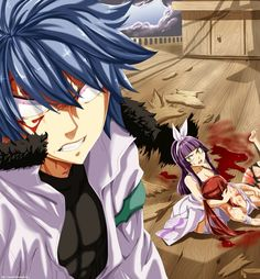 He looks about ready to kill someone. Get 'em Jellal.