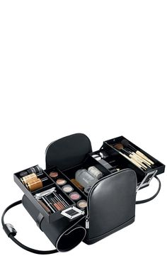 Free shipping and returns on Bobbi Brown Makeup Artist Kit at Nordstrom.com. Inspired by the kits Bobbi and her team of professional artists carry to shoots. Limited-edition kit opens to reveal four trays and a large compartment for skincare and palettes. Made of black faux leather with saddle contrast stitching and luxe silver hardware.
