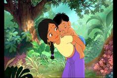 Shanti with Ranjan (Jungle Book 2)