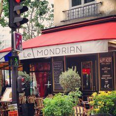 Paris Café: Le Mondrian