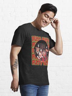 """KISS Band"" T-shirt by ind3finite | Redbubble Kiss Band, Tank Man, Shirt Designs, Mens Tops, T Shirt, Stuff To Buy, Fashion, Supreme T Shirt, Moda"